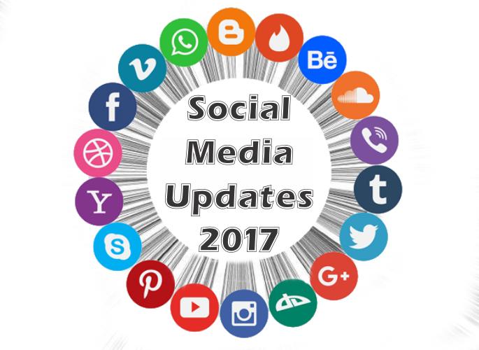 Social Media Updates 2017