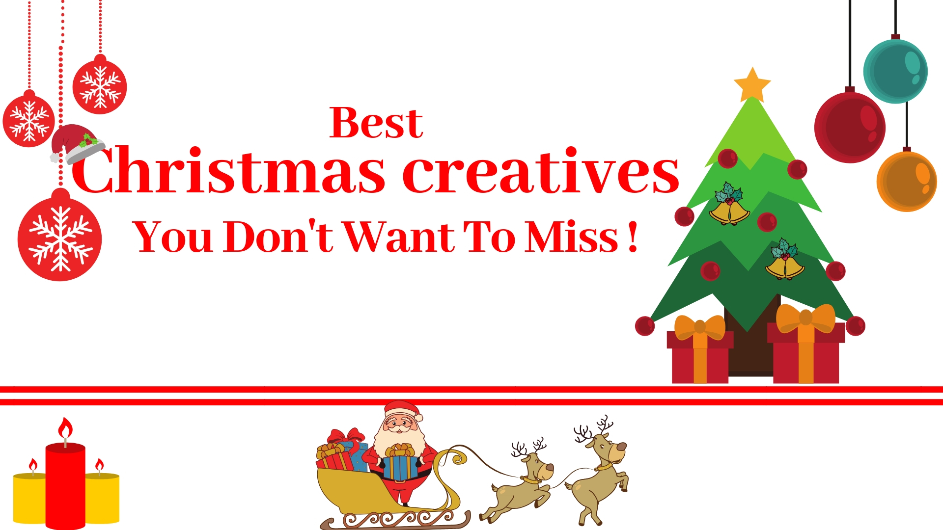 Christmas creatives, Christmas infographics,