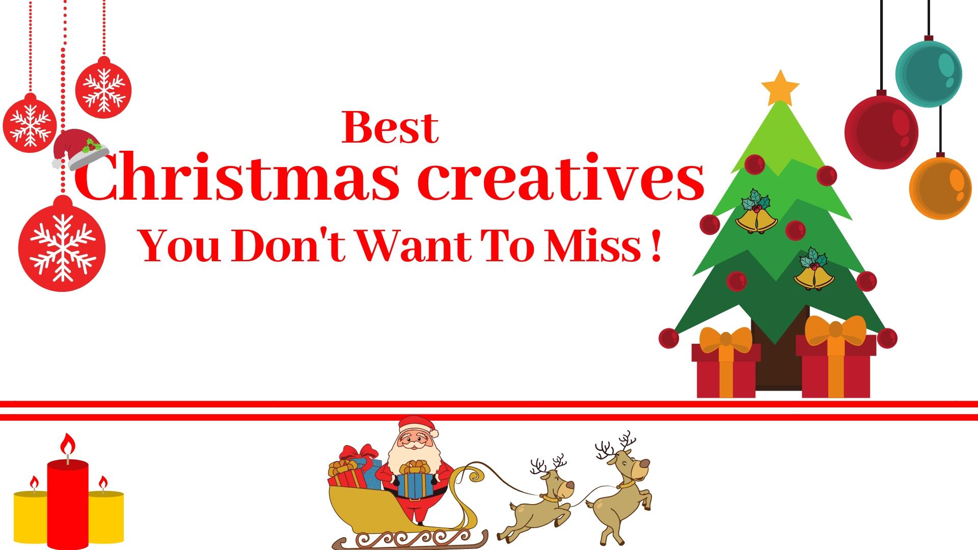 Christmas creatives, Christmas infographics,
